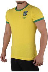 Lotto Amarillo / Verde de Hombre modelo R0246 Polos Deportivo Camisetas