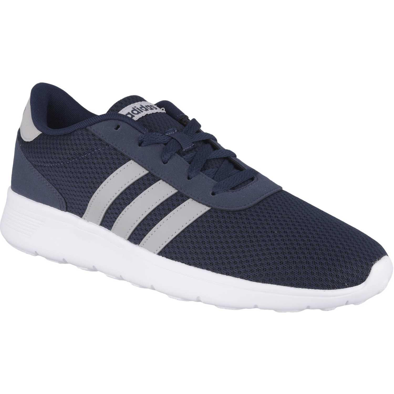 Zapatilla de Hombre adidas NEO Azul / gris lite racer