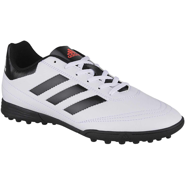size 40 c02dc 299d0 Zapatilla de Jovencito Adidas Blanco  negro goletto vi tf j