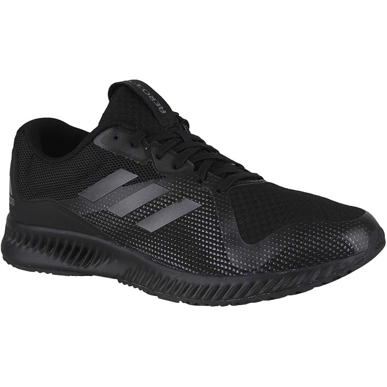266f766f3a Zapatilla de Hombre Adidas Negro   negro aerobounce racer m ...