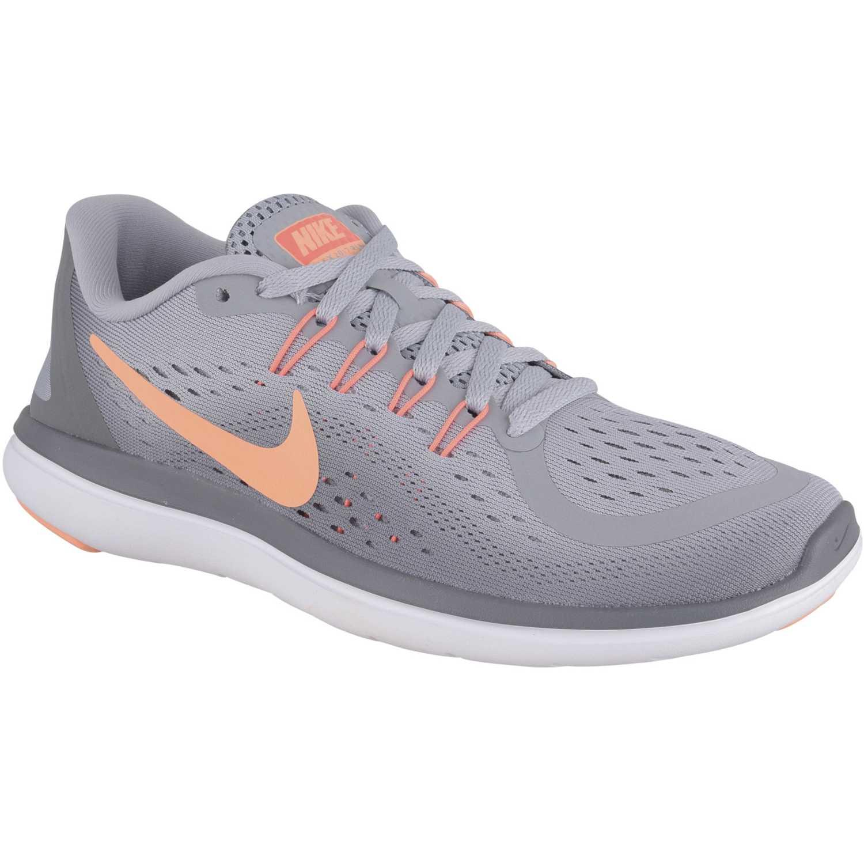 8608fb1c77c Zapatilla de Mujer Nike Gris   naranja wmns flex 2017 rn ...