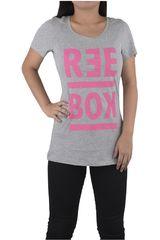 Reebok Gris / Rosado de Mujer modelo BOLD OPP - SCOOP Polos Deportivo
