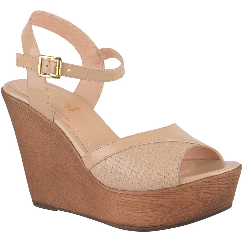 Sandalia Cuña de Mujer Limoni - Cuero Piel spw 2118101