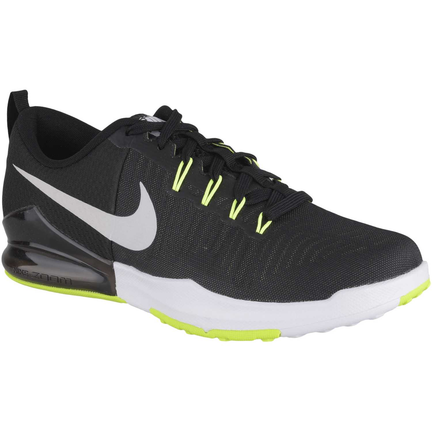 adb06f66bbf1a Zapatilla de Hombre Nike Negro   blanco zoom train action ...