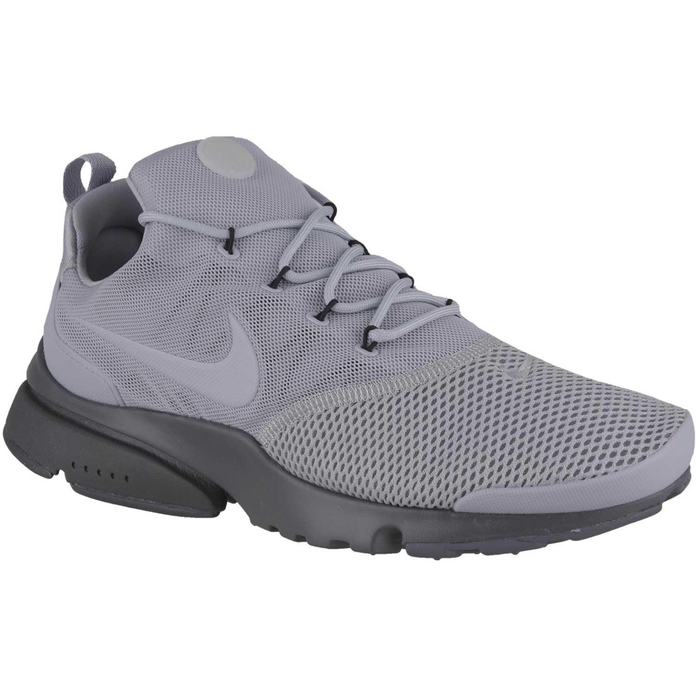 buy popular 0ebf1 0a9cd Zapatilla de Hombre Nike Gris  plomo presto fly