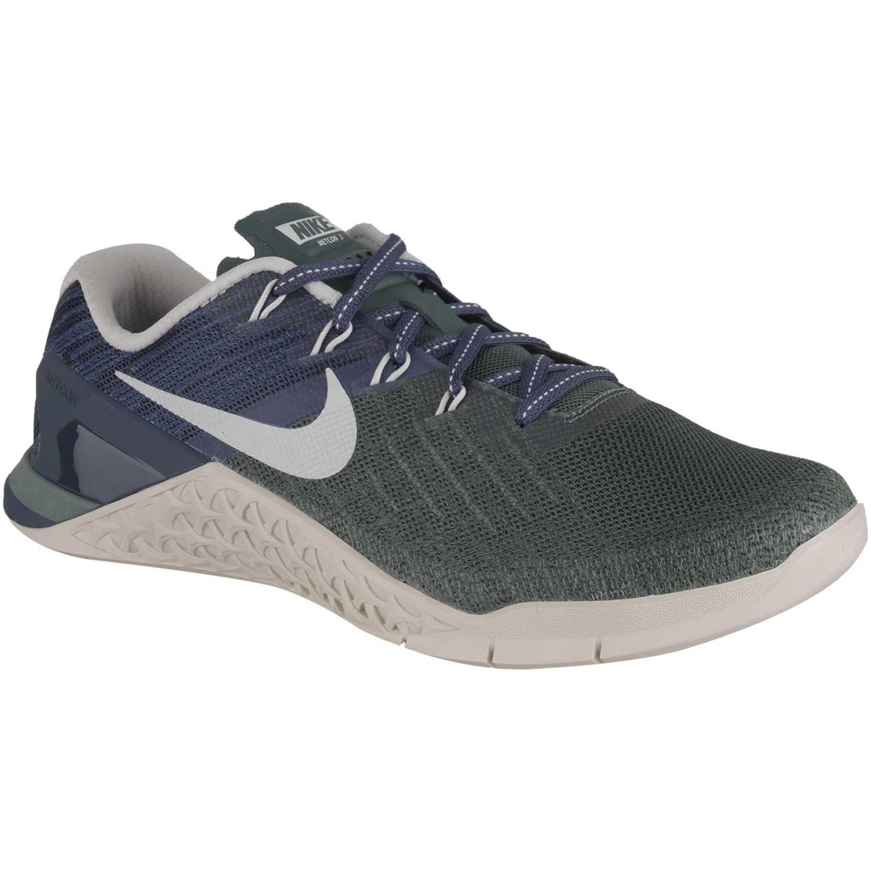 7cf39baee1d28 Zapatilla de Mujer Nike Azul petróleo wmns metcon 3
