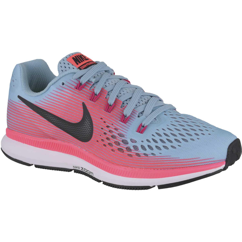 99035698ae Zapatilla de Mujer Nike Celeste   rosado wmns air zoom pegasus 34 ...