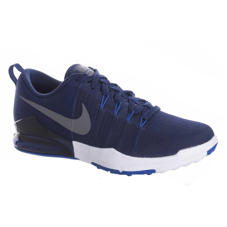 99846430b2a Zapatilla de Hombre Nike Azul   Gris zoom train action