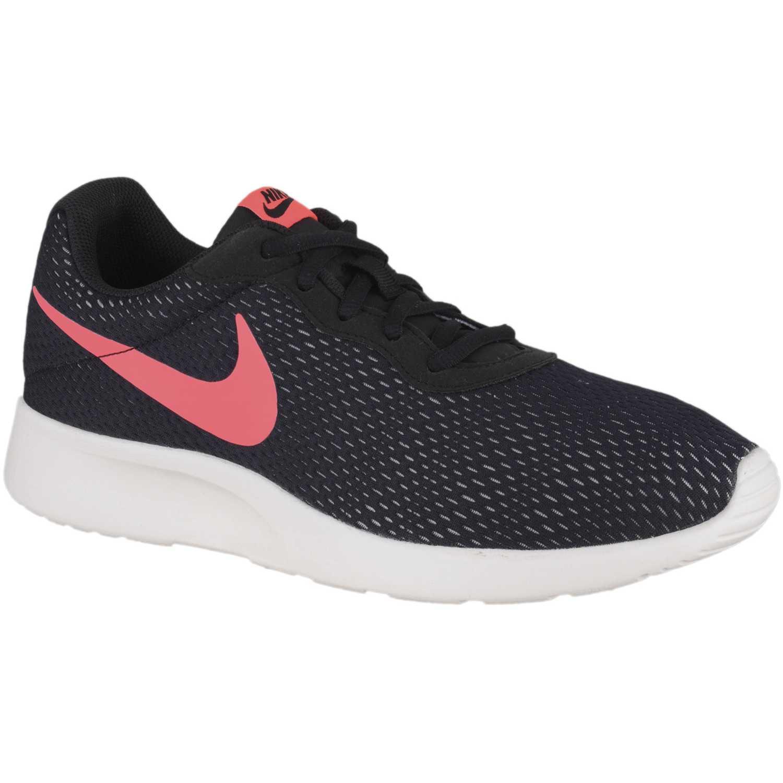 Zapatilla de Hombre Nike Negro / rojo tanjun se