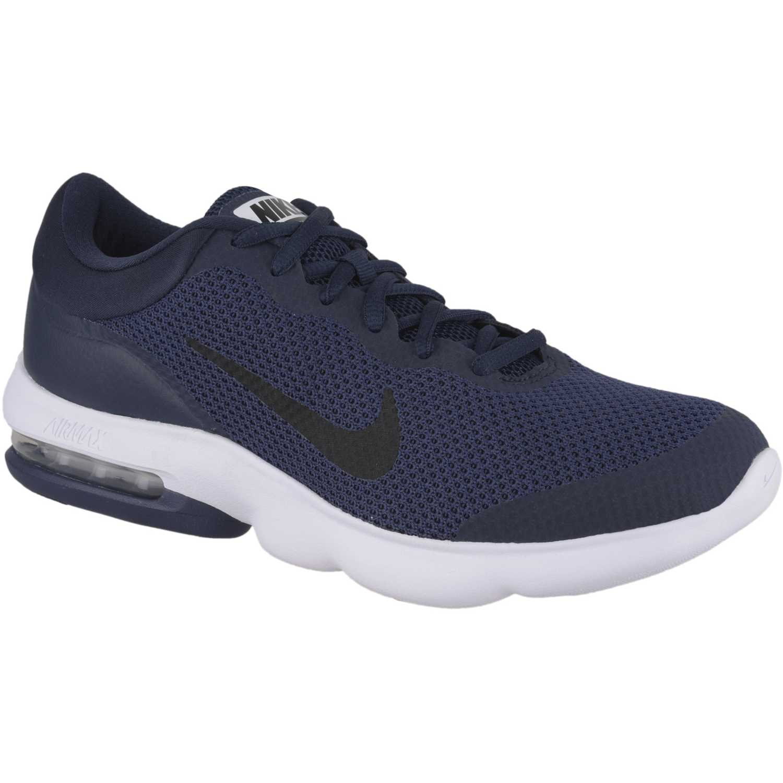 6edf5057f726b Zapatilla de Hombre Nike Azul   blanco air max advantage ...