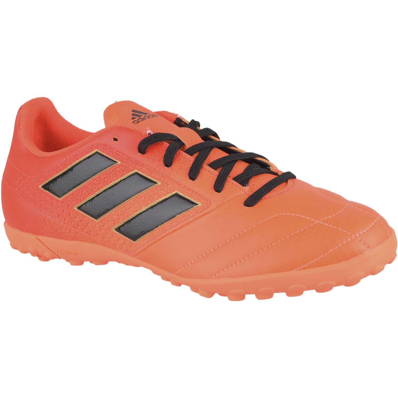 Zapatilla de Hombre adidas naranja   negro ace 17.4 tf  f8324fd431b8e