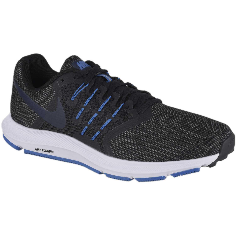 Hombre Swift Zapatilla Azul Nike De Negro Run 5CUqFwC