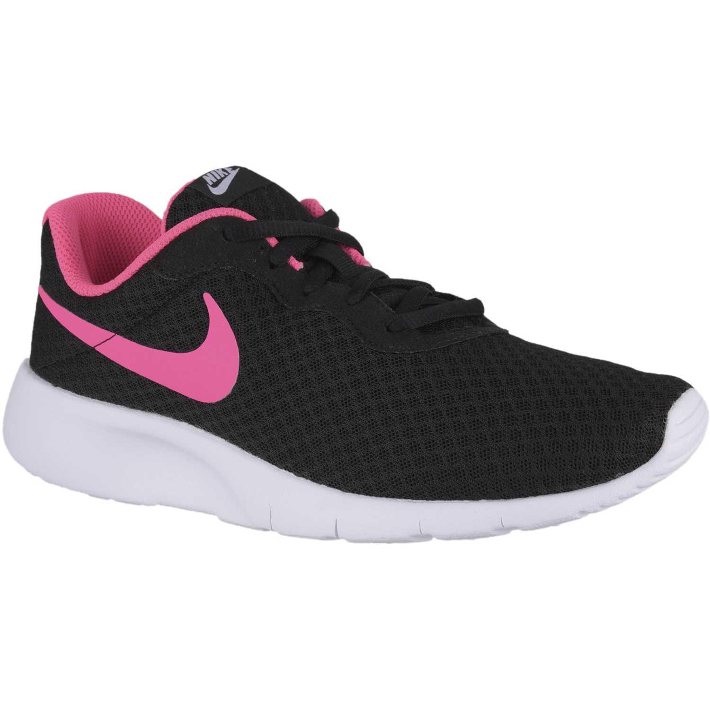 wholesale dealer d699b 041b8 Zapatilla de Jovencita Nike Negro   fucsia tanjun gg