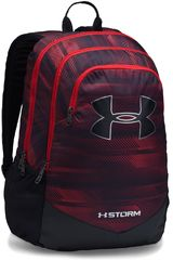Under Armour Rojo / negro de Niño modelo UA BOYS SCRIMMAGE BACKPACK Mochilas