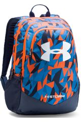 Under Armour Azul / negro de Niño modelo UA BOYS SCRIMMAGE BACKPACK Mochilas