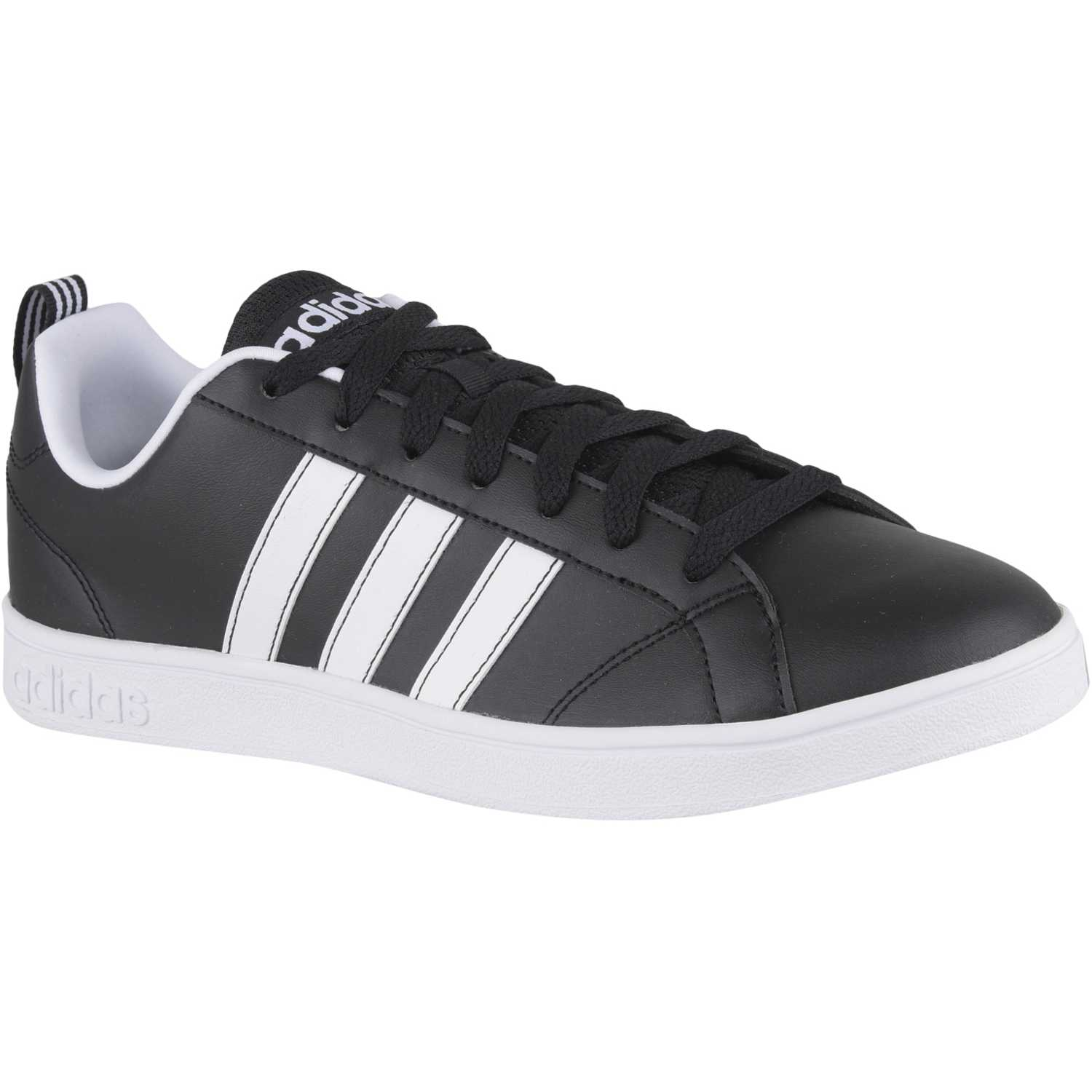 reputable site e6a5a de9d5 adidas NEO Negro  blanco de Hombre modelo vs advantage Urban Casual  Deportivo Walking Zapatillas