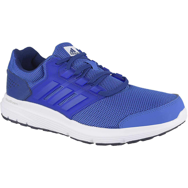 sports shoes 1976e 7d3cc Zapatilla de Hombre Adidas Azul   blanco galaxy 4 m