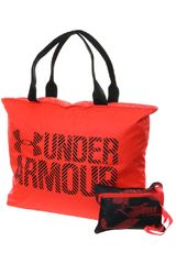 Under Armour Coral de Mujer modelo UA BIG WORDMARK TOTE 2.0 Bolsos Carteras