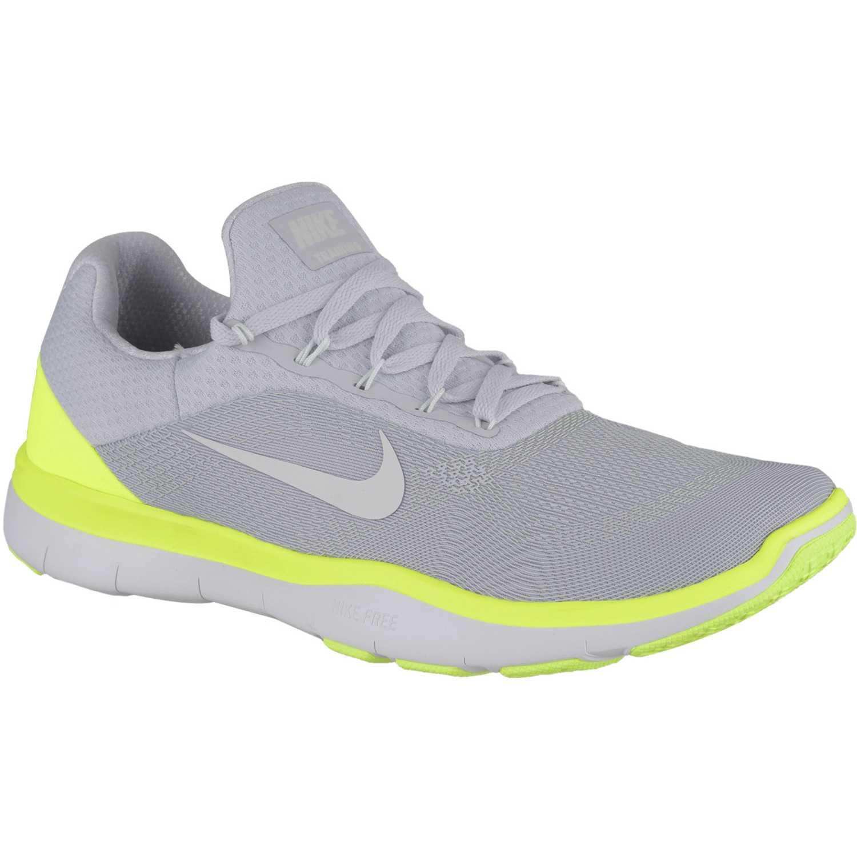 check out 5d559 bf9c3 Zapatilla de Hombre Nike Gris   amarillo free trainer v7