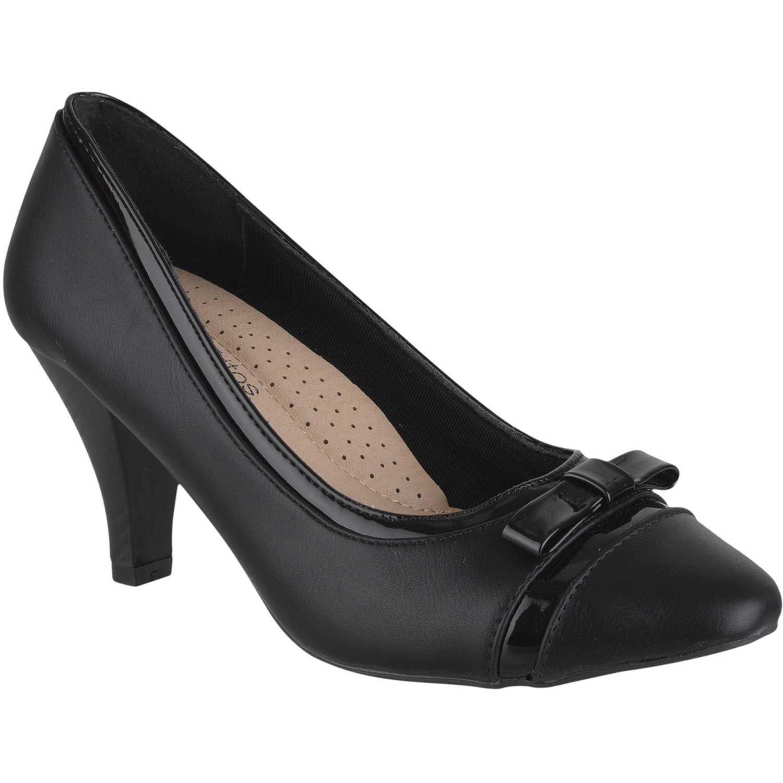 Calzado de Mujer Platanitos Negro c-27451