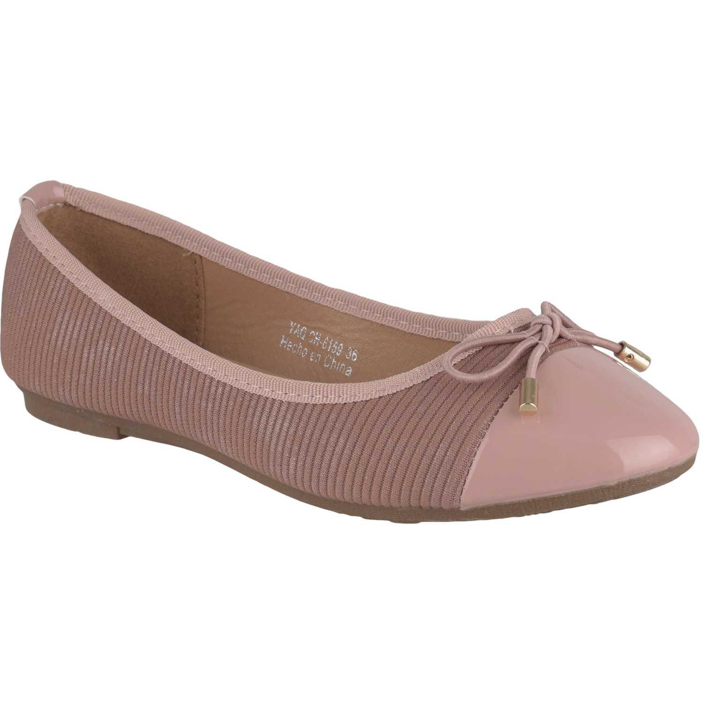 Ballerina de Mujer Platanitos Rosado ch-6159