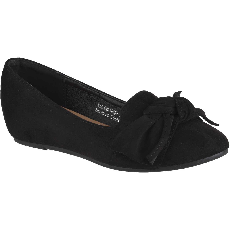 Ballerina de Mujer Platanitos Negro cw-16139