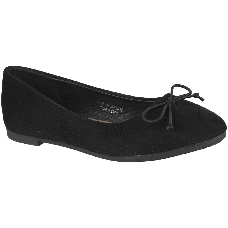 Ballerina de Mujer Platanitos Negro ch-228g