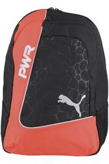 Puma Negro / Naranja de Hombre modelo EVOPOWER FOOTBALL BACKPACK Mochilas