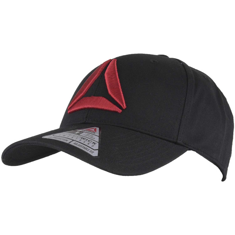 ce83489986c0a Gorro de Hombre Reebok Negro   Rojo act enh baseb cap