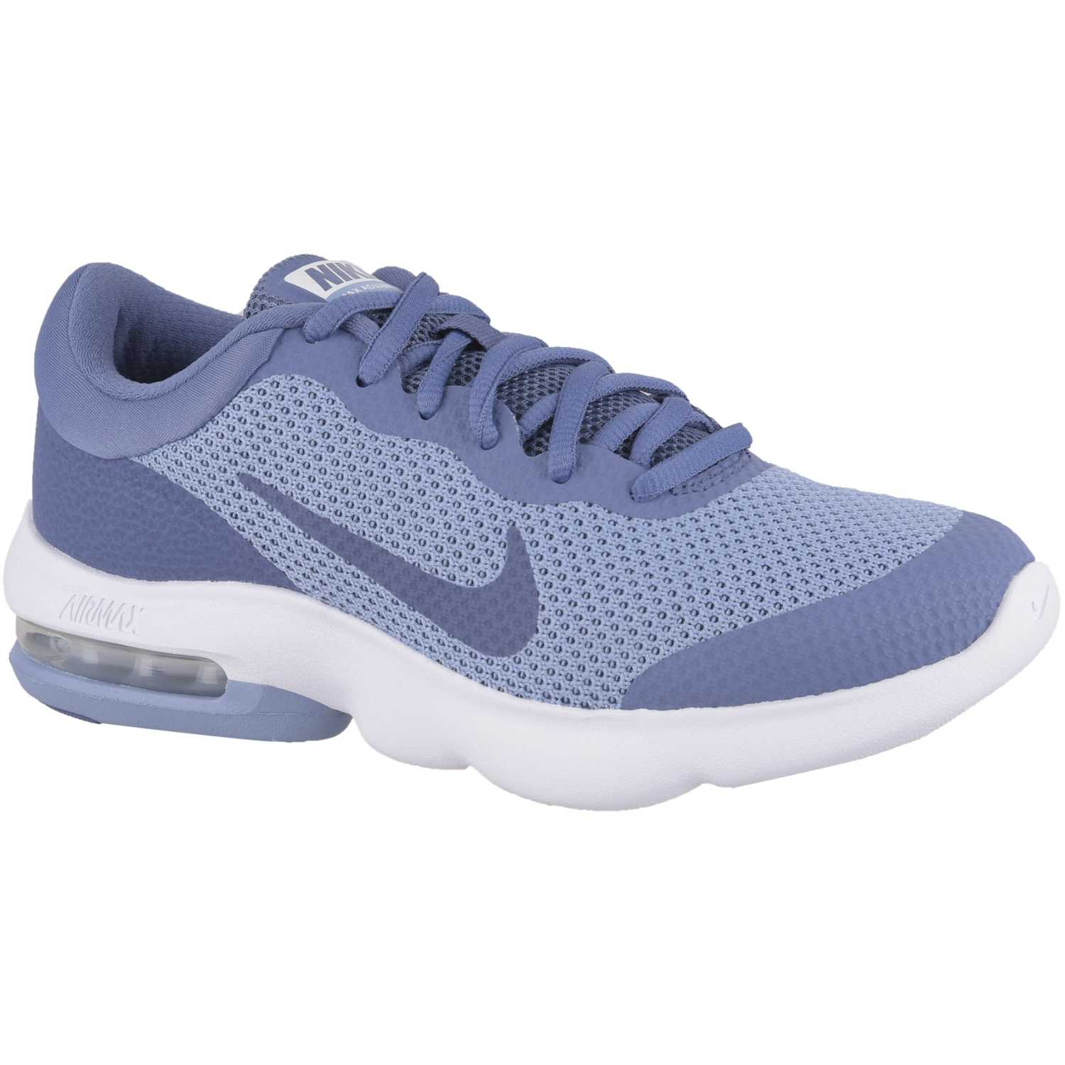 sports shoes 7ae5e 0831c Zapatilla de Mujer Nike Acero  blanco wmns air max advantage