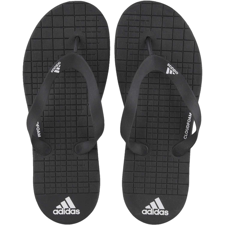 new styles c00d8 68122 Sandalia de Hombre Adidas Negro   blanco eezay cf