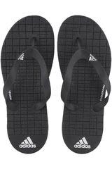 adidas Negro / Blanco de Hombre modelo EEZAY CF Sandalias Playeras Deportivo
