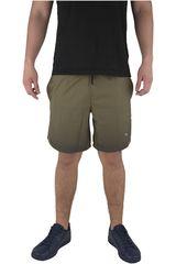 Puma Olivo / Gris de Hombre modelo PACE 7 GRAPHIC SHORT Shorts Deportivo