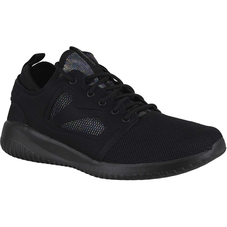 Reebok Zapatillas de Material Sintético Para Hombre Negro Negro, Color Negro, Talla 42,5