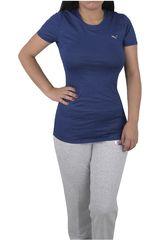 Puma Azul / Gris de Mujer modelo ESSENTIAL TEE - GRAPHIC Polos Deportivo