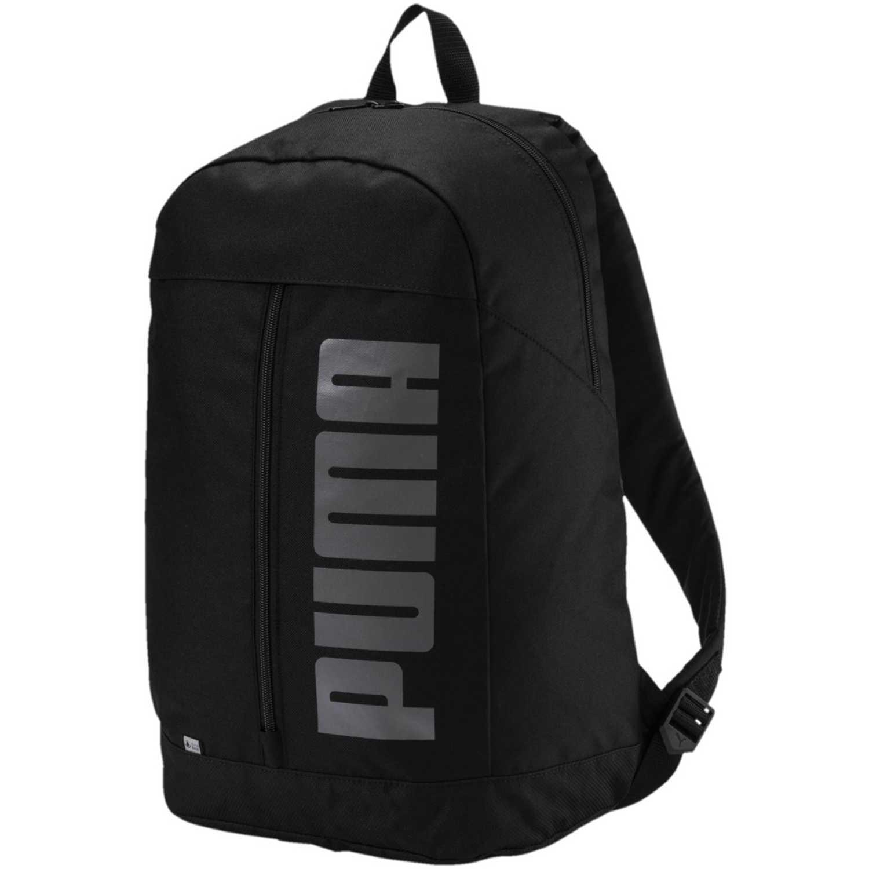 89464032e Mochila de Hombre Puma Negro  Gris pioneer backpack ii