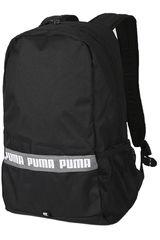 Puma Negro / Blanco de Hombre modelo PHASE BACKPACK II Mochilas