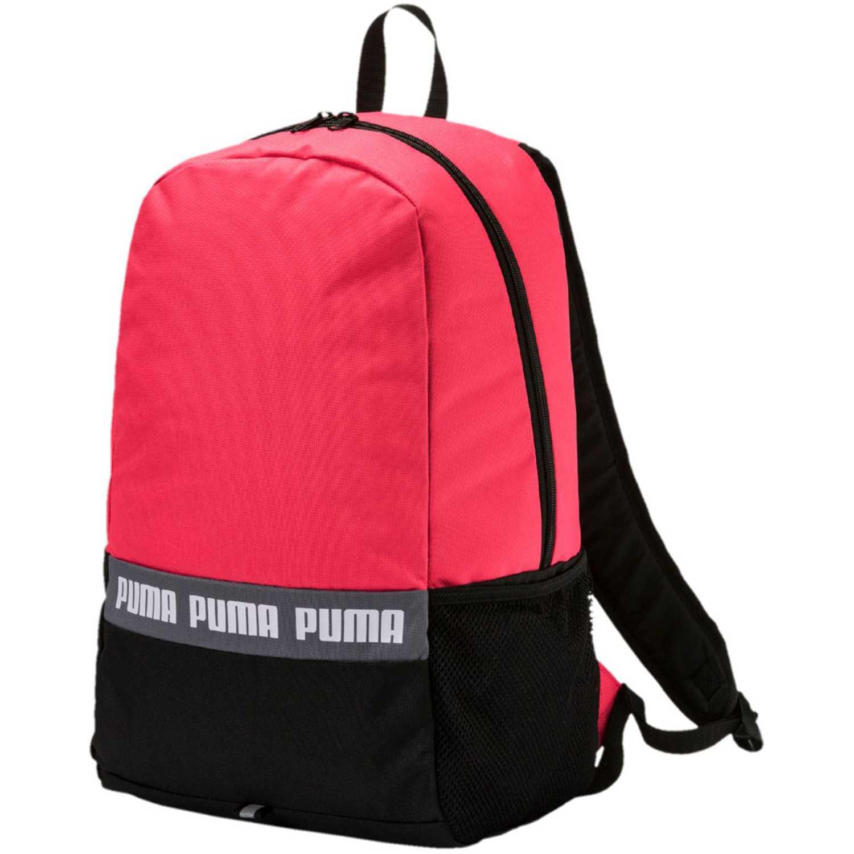 Mochila de mujer puma coral negro phase backpack ii for Mochila oficina