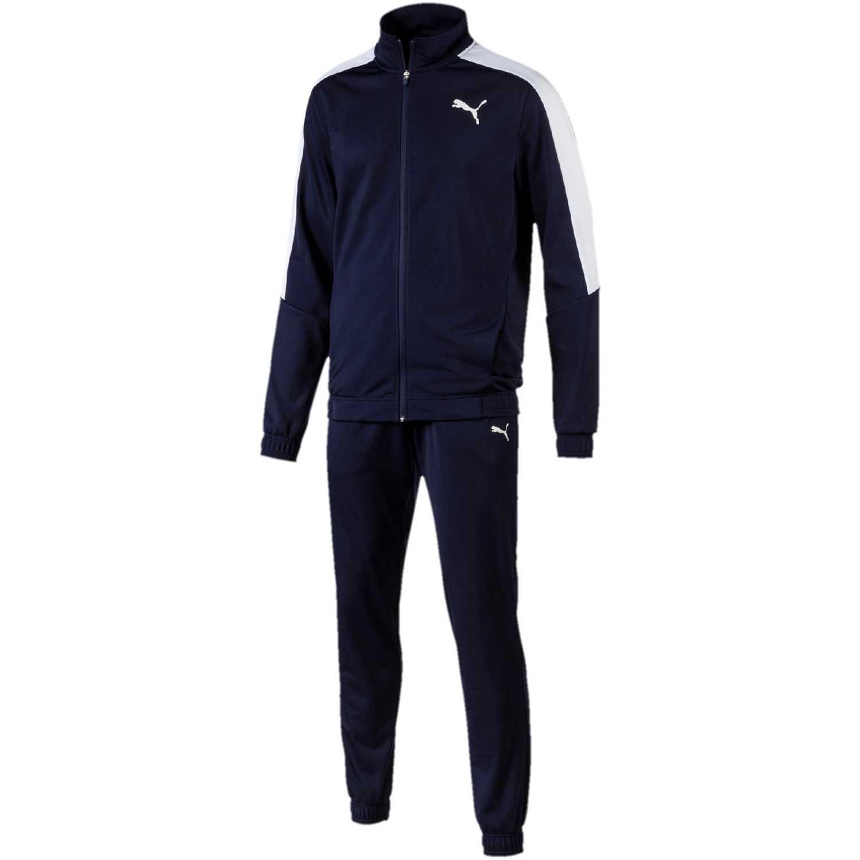 Buzo de Hombre Puma Azul classic tricot suit cl