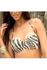 Bikini Brassiere de Mujer Kayser Zebra RB-1404