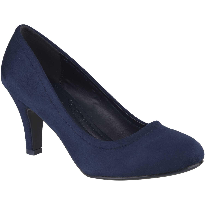 Calzado de Mujer Platanitos Azul c-v-8852