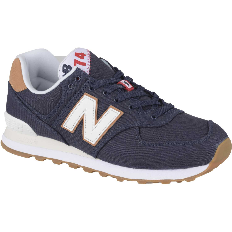 new balance marron hombres zapatillas