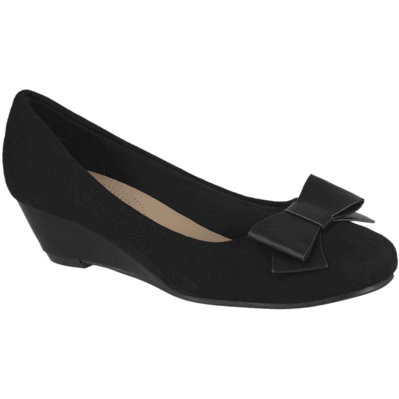 Calzado de Mujer Platanitos Negro cw-0753