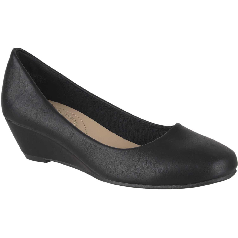 Calzado de Mujer Platanitos Negro cw-0778s