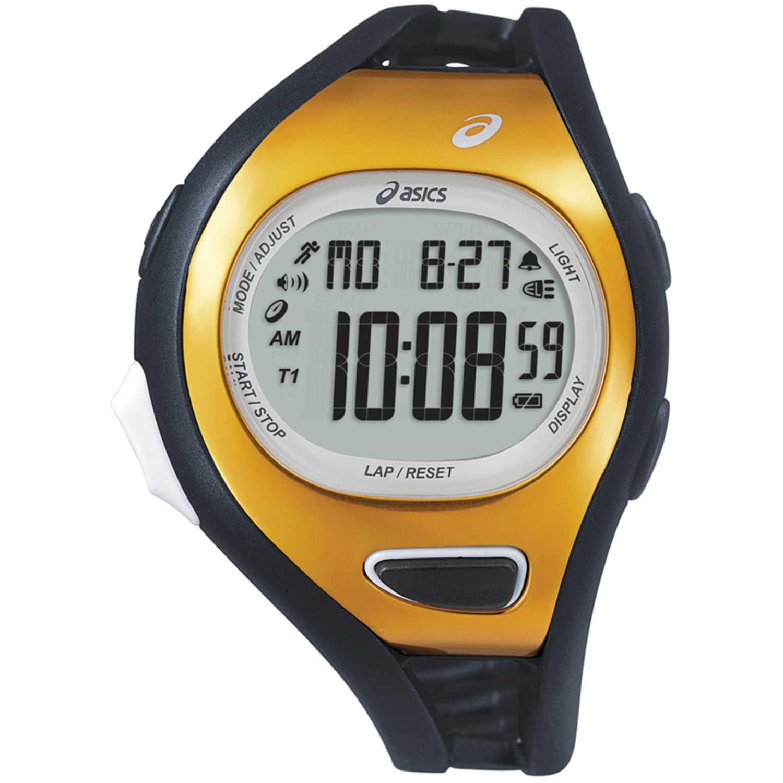 Reloj de Unisex Asics Negro / dorado cqar0705