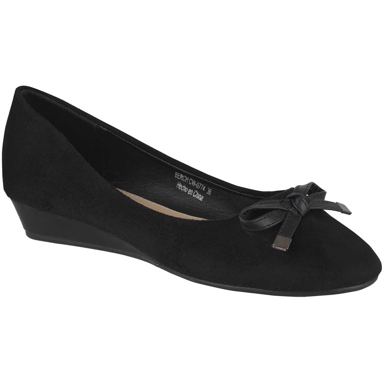 Calzado de Mujer Platanitos Negro cw-0774