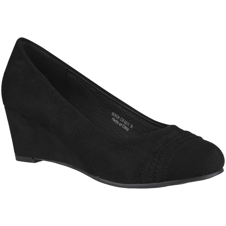 Calzado de Mujer Platanitos Negro cw-0010