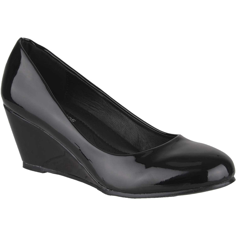 Calzado de Mujer Platanitos Negro cw-771