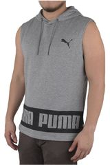 Puma Gris / Blanco de Hombre modelo REBEL SLEEVELESS HD TR Poleras Deportivo