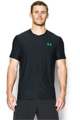 Under Armour Plomo / Verde de Hombre modelo SUPERVENT FITTED SS Deportivo Camisetas Polos